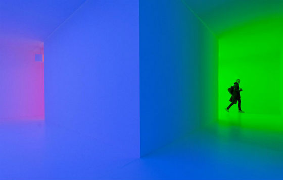 Carlos Cruz-Diez. 'Chromosaturation', 2008.